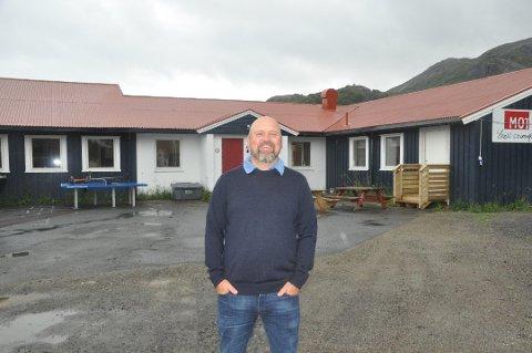 Rektor ved Ramberg skole, Patrick Glavin.