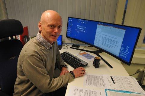 Preget: Rektor ved Svolvær skole, Ronnie Maas Pedersen.