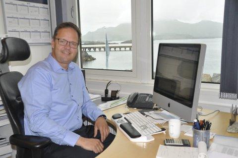 Konserndirektør i Insula, Sigvald Rist.