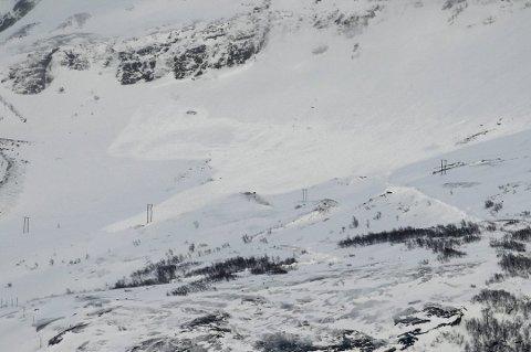 Statsadvokaten har konkludert etter skredulykken i Sørfold i mars i 2019. Foto: Kent Even Grundstad / NTB scanpix