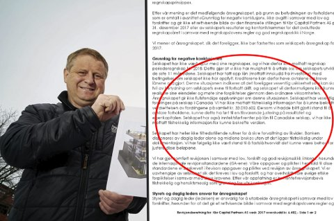 FRYKTER ALT ER TAPT: En rekke nordnorske småsparere frykter pengene er tapt. Kjell-Arne Johansen i Narvik er en av dem.