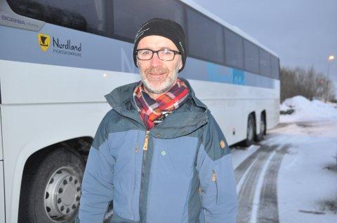 ARBEIDSPLASSER: - Vi er i gang med å lyse ut stillinger der søkerne kan jobbe fra hvor som helst i Nordland, sier nestleder i fylkesrådet, Svein Øien Eggesvik (Sp). Foto: Magnar Johansen