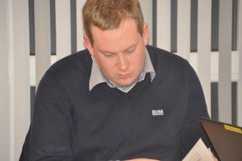 NYTT MEDLEM: Hartvig Magnus Sverdrup er nytt styremedlem fra Moskenes i Lofotkraft Holding AS.