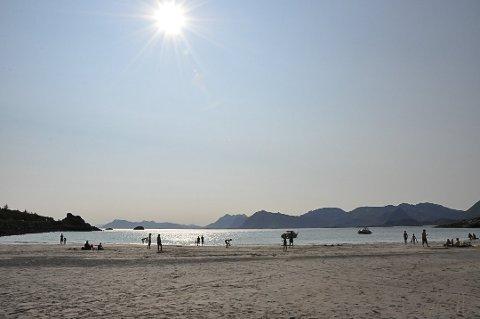 GODT VÆR I VENTE: Sol og opp mot 20 grader meldes det fra meteorologene.