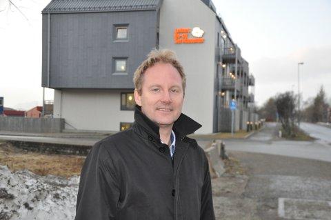 BYPLAN: - Vi må ha realistiske forventninger til hva vi kan få til i en byplan, sier Vestvågøy-ordfører Remi Solberg. Foto: Magnar Johansen