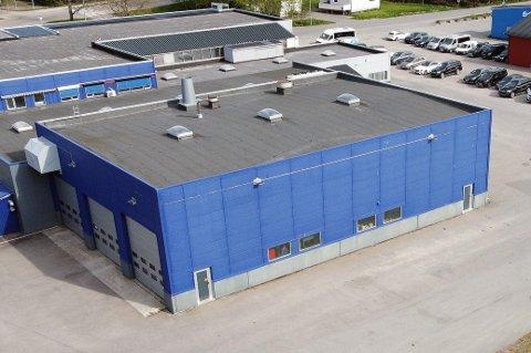 UTVIDER: Teknisk Bureau skal bygge nytt tungbilverksted til ti millioner kroner. Det skjer i tilknytning til verkstedet på Sortland.