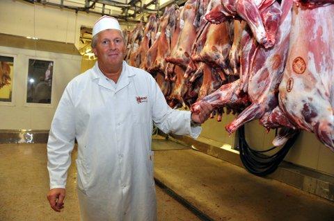ØKNING: Horns Slakteri økte omsetningen i fjor. Arild Horn er medeier, daglig leder og styreleder.