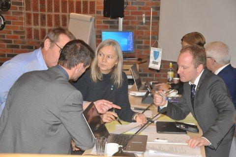 OMSORG: Varaordfører Anne Sand (Sp) mener Vestvågøy tilbyr gode helse- og omsorgstjenester selv om kommunen bruker vel 4000 kroner mindre per innbyggere enn sammenlignbare kommuner.