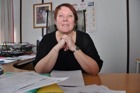 BARNEHAGE: Rådgiver Ingunn Abrahamsen i oppvekstetaten i Vestvågøy ba Statsforvalteren om råd om vervekampanje i barnehage.