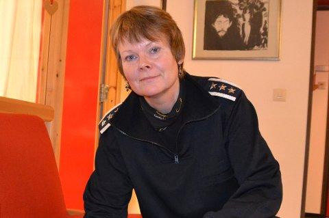 Brannsjef Ragnhild Sæbø i Lofoten brann- og redningsvesen.