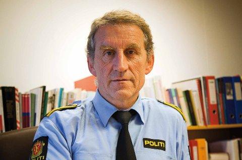 Asbjørn Sjølie, lensmann ved Vest-Lofoten lensmannskontor.