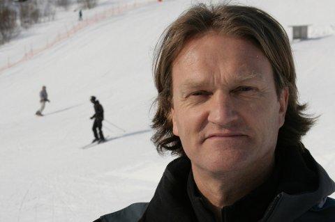 Styreleder i Byavisa Drammen Even Carlsen forteller at det er slutt for aviseventyret. Arkivfoto: Avisa Nordland.