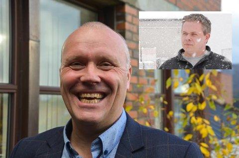 """Adm. dir. i Lofotkraft Arnt M. Winther svarer for """"De Grønne Øyene"""", som har blitt kritisert av lokalpolitiker Odd Eskil Andersen (innfelt)"""