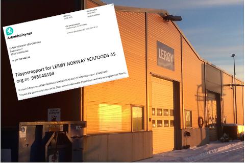 Arbeidstilsynet har gjennomført tilsyn og skrevet en foreløpig rapport etter arbeidsulykken ved Lerøy Norway Seafoods i Stamsund 6. februar i år.