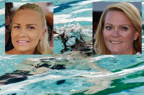 Julie Rubia Nordmark har aldri betalt for å se på at barna bader. Randi Rasmussen sier at det blir strengere fra nå av på Leknes Svømmehall.