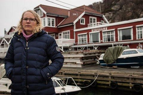 OMREGULERING: Siv Aavik tok opp forholdene rundt Korshamn rorbuer flere ganger som kommunestyremedlem. Nå skal område omreguleres til fritidsboliger.