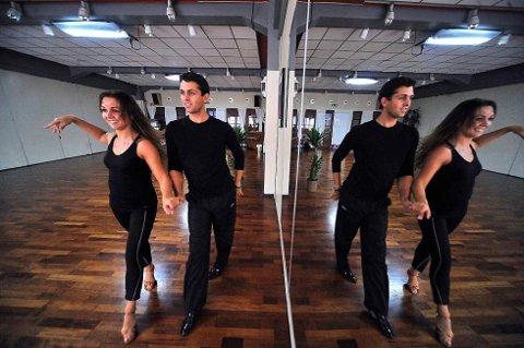 Marianne og Glenn Jørgen Sandaker er begge med i årets utgave av «Skal vi danse».