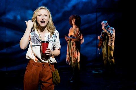 Heidi Gjermundsen Broch spiller hovedrollen i den nye musikalen «Tenk om» på Det Norske Teatret.