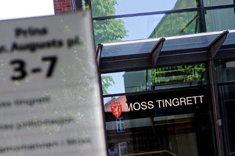 REDUSERER: Moss tingrett reduserer sin virksomhet til de mest nødvendige oppgavene.