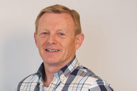 Helge Warberg-Knoll, journalist i Moss Avis.