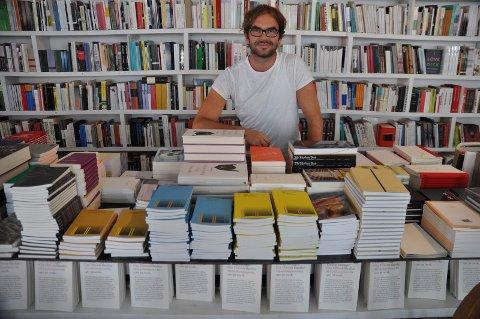 FÅR STØTTE: Audiatur bokhandel, ved Martin M. Sørhaug.
