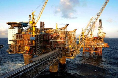 HØY VERDI: Verdien av den norske oljeeksporten i september var på hele 25,7 milliarder kroner.
