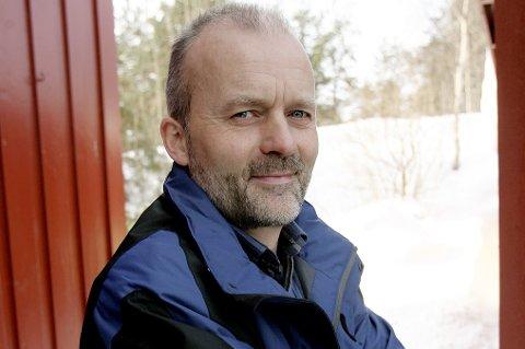 Eystein Simonsen (54)er over gjennomsnittet interessert i vær og statistikk.