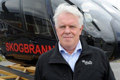Fungerende seksjonssjef Hans Kristian Madsen i Brann og redning (BRE).