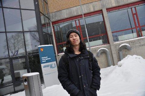 TØFF REGEL: – For dem som sliter både hjemme og på skolen, er ikke fraværsgrensen til noen hjelp, sier elevrådsleder på Malakoff, Jon Benjamin Håvie.