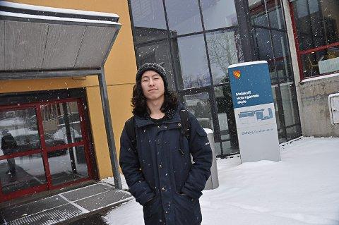 Jon Benjamin Håvie, elevrådsleder på Malakoff.
