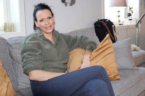 ÅPEN: Ida Marie Stilén i Moss forteller om sine erfaringer med  det å være psykisk syk og slite med selvmordstanker.