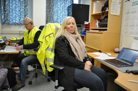 HEKTISK: Det har blitt lite søvn og hektisk aktivitet det siste døgnet for lokale tillitsvalgte, Jan Larsen og Mona Andersen