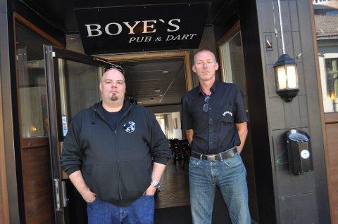 REDUSERE STØY: Boyes Pub har allerede satt inn tiltak for å redusere støy. Nå må de dokumentere effekten av tiltakene.