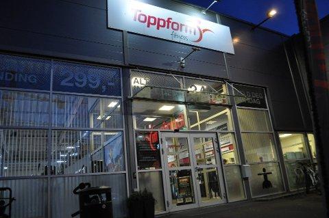 TOPPFORM: En mann oppga bevisst feil adresse da han forsøkte å tegne medlemsskap hos Toppform Fitness i Moss.