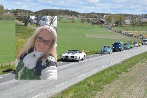 17. mai-komiteleder Merethe Ekeberg gjenskaper suksessen med bilkortesje.