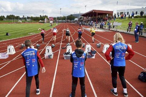 VIL ARRANGERE: Overhalla IL har kastet seg inn i kampen om å være vertskap for junior-NM i friidrett i 2022.