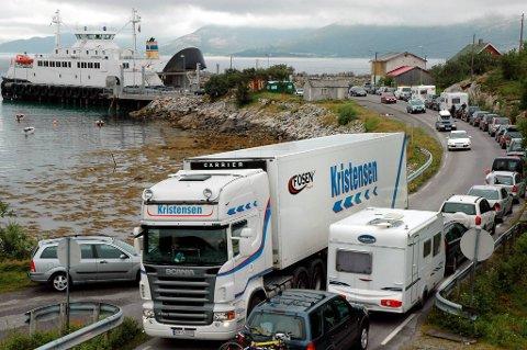 TETT: Fergesambandet Holm – Vennesund får større kapasitet i sommer for å klare og ta unna ferietrafikken.