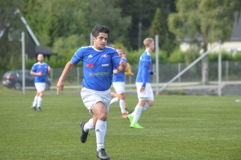 TILBAKE: Gleidson Bernardo Pinheiro er tilbake på Namsos-laget i lørdagens kamp mot Sverresborg.