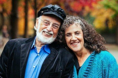 EKTEPAR: John Gottman og kona Julie har begge forsket på ektepar og samliv i en rekke år.