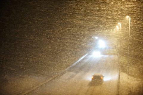 SNØKAOS: Meteorologisk Institutt melder om store snømengder på tur til Nord-Trøndelag. Vegtrafikksentralen frykter for fremkommeligheten.