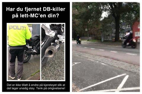 VURDERER TILTAK: UP i Trondheim vurderer å gå hardere til verks for å få bukt med støyproblemet som forårsakes av at den såkalte DB-killeren tas ut av eksospotten.