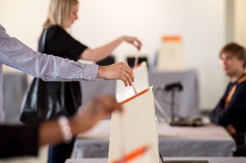 SISTE FRIST: Hvis du vil forhåndsstemme, har du frem til klokken 19 i dag på å avgi din stemme. Foto: Oslo kommune/Sturlason