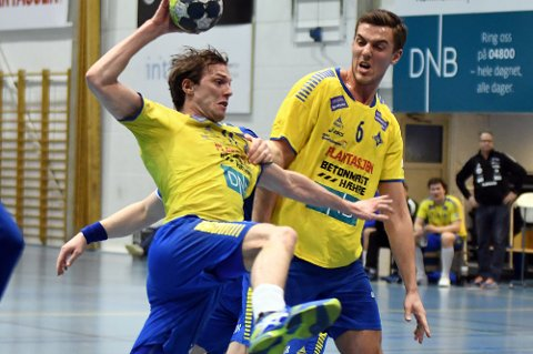 TAP: Nicolay Hauge scoret riktignok på tre av fire skudd, men både han og BSK slet mot Fyllingens forsvar.