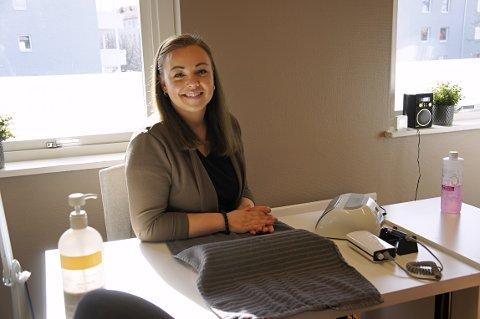 Martine Henriksen Svingen startet for seg selv for tre år siden.