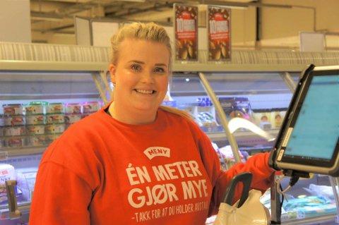 Emilie Kristiansen er netthandelansvarlig på Meny Bryn. En nettbutikk som har vokst mye det siste året.