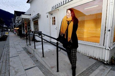 Åpner butikk: Første februar åpener Mari Lillebråten Øihusom butikk i lokalene der Grøn Tråd holdt til tidligere.