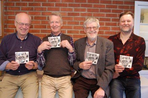 Takka vere denne kvartetten er det laga seks CD-ar med arkivopptak av folkemusikk frå heile Gudbrandsdalen: Frå v. Rasmus Stauri, Ola Grøsland, Rolv Brimi og Niels Røine. Sistnemnde frå plateselskapet ta:lik.