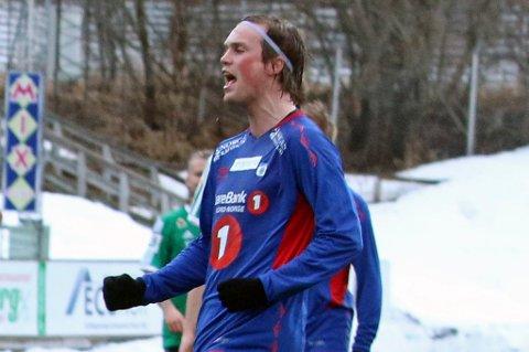 Tobias Nygård Vibe, her ved en tidligere anledning, mener opprykkstoget har gått mens TUIL står igjen på perrongen.