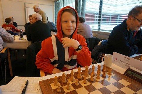 Mads Vestby-Ellingsen har imponert i flere turneringer i det siste. Foto: Tromsø Sjakk.no