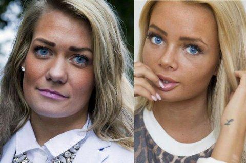 DELTAR: Både blogger Sophie Elise og Sp-politiker Sandra Borch er deltagere i den nye TV2-serien «Haterne. Foto: Scanpix